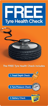 Free tyre health check