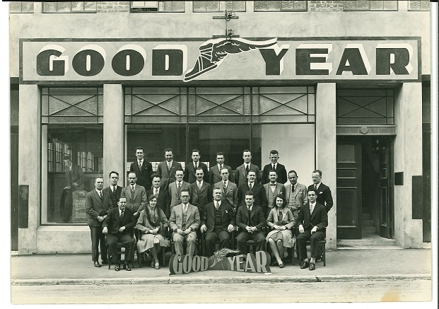 Goodyear Wellington opening 1929